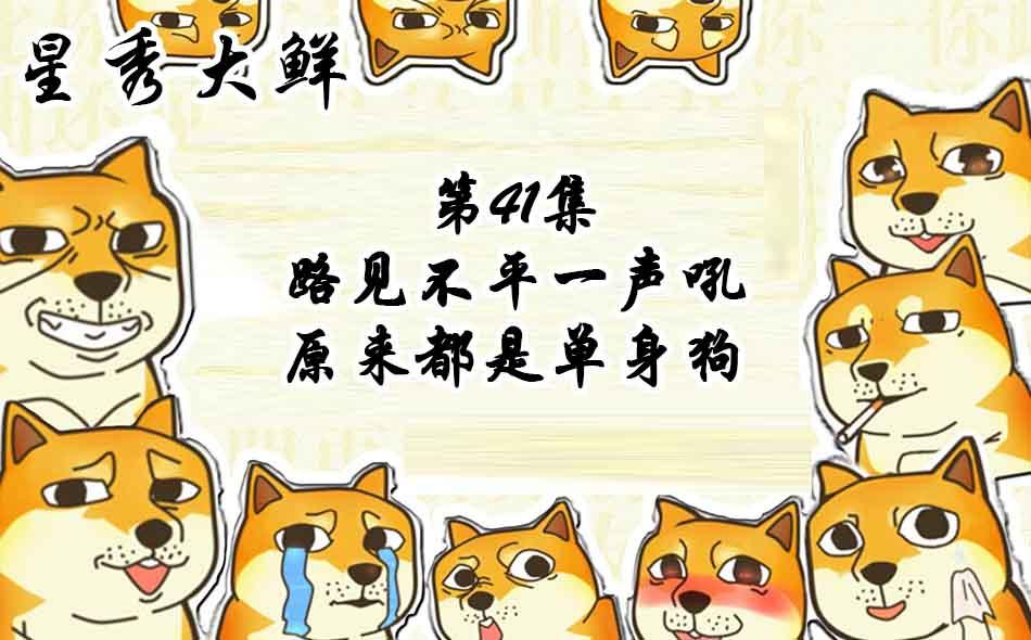 【星秀大鲜】第四十一集 路见不平一声吼 原来都是单身狗